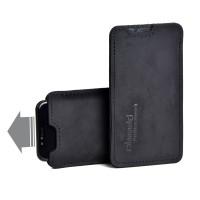 Almwild iPhone X/Xs-Hülle Sattlerschorsch, Größe L3, Schwarz